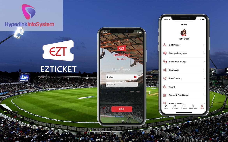 event ticket booking app development