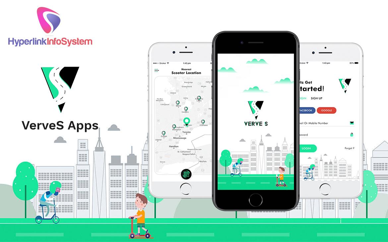 scooter rental app development