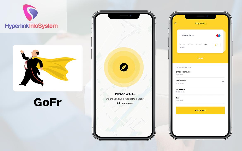 goods delivery app development company