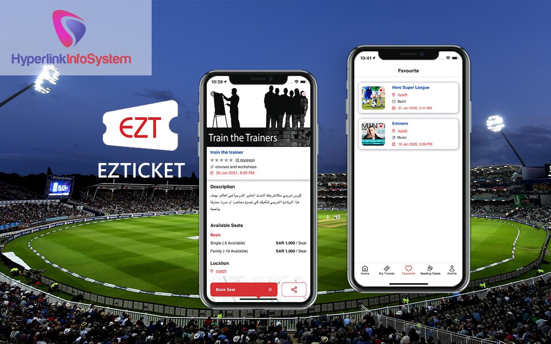 event ticket booking app development in canada