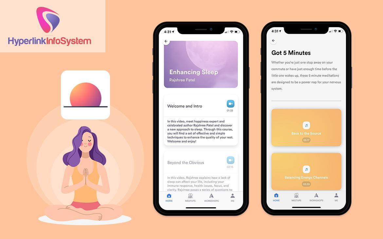 meditation app development in canada
