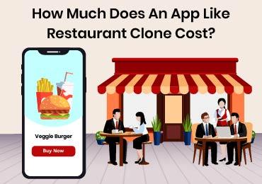 restaurant app clone cost