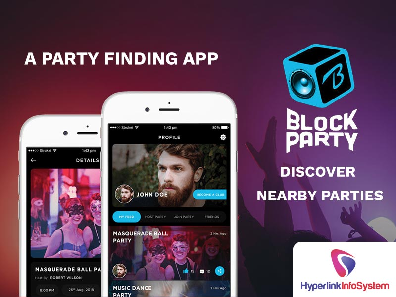 block party discover nearby parties