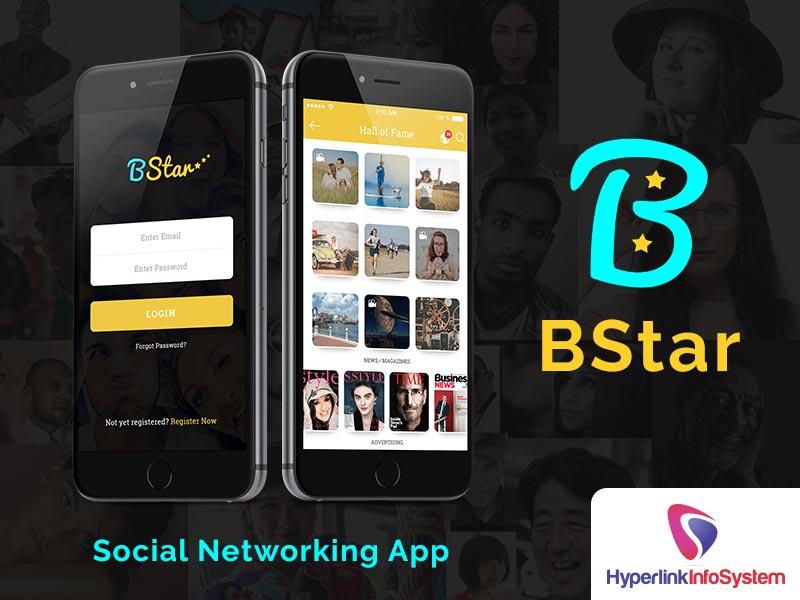 bstar social networking app