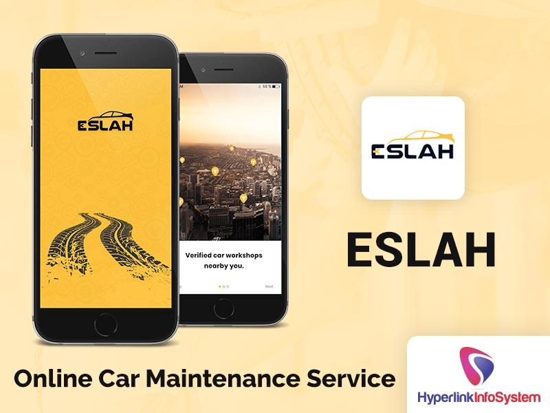 eslah online car maintenance service