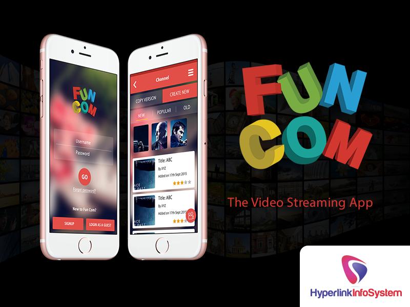 funcom video streaming app