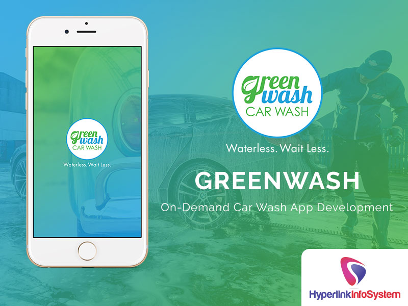 green wash car wash on demand car wash app development