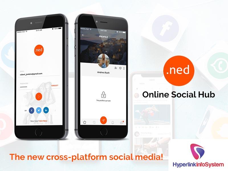 .ned online social app