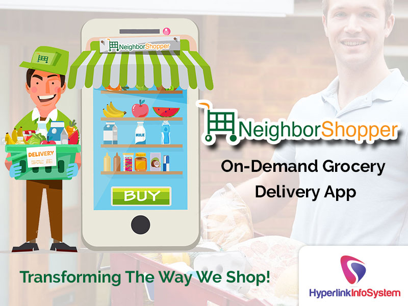 neighborshopper on demand grocery delivery app