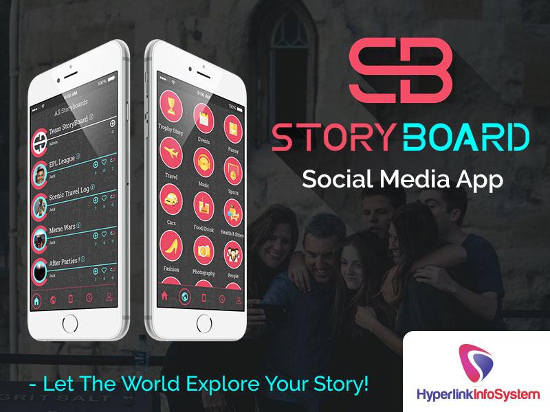 story board social media app