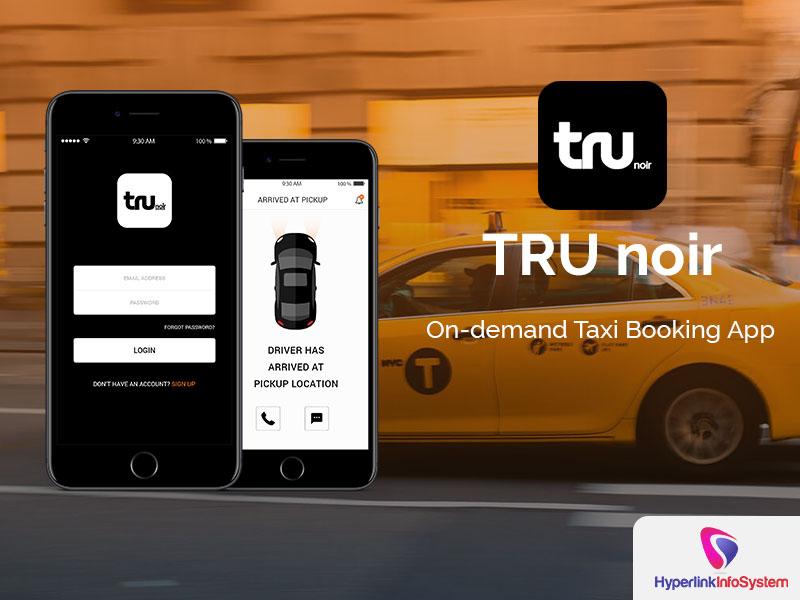 trunoir on demand taxi boking app