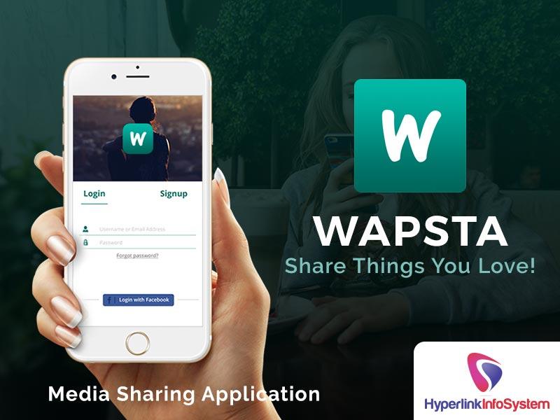 wapsta media sharing application