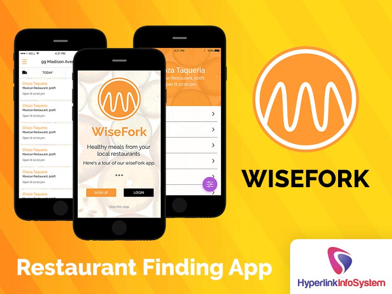 wisefork restaurant finding app