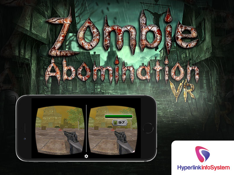 zombie abomination vr shooting game