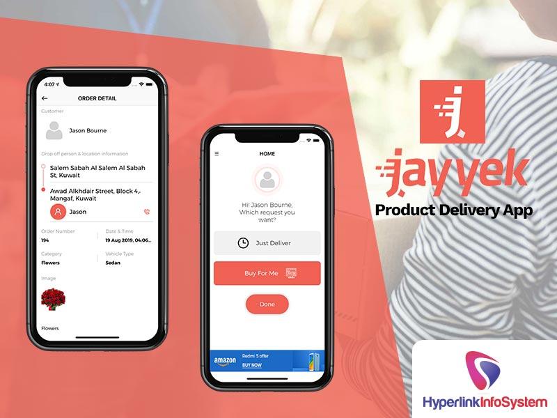 jayyek product delivery app