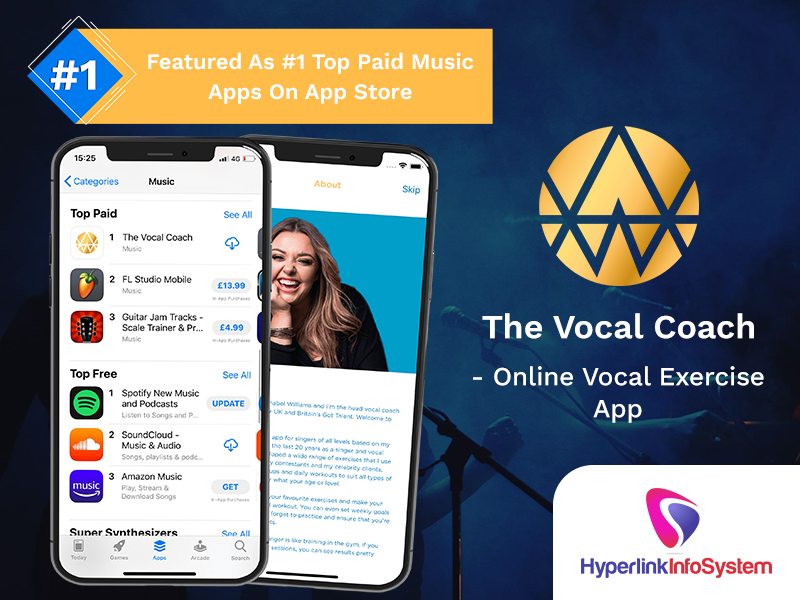 the vocal coach online vocal exercise app