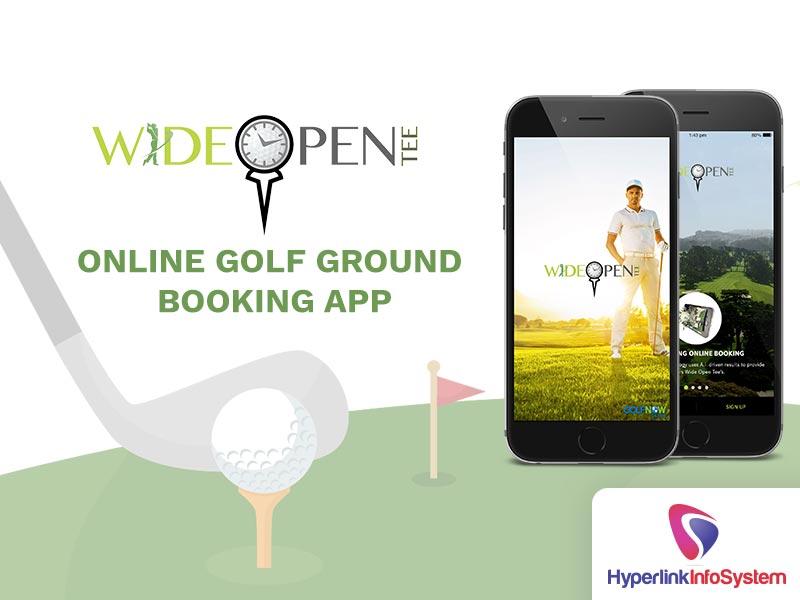 wide open tee online golf ground booking app