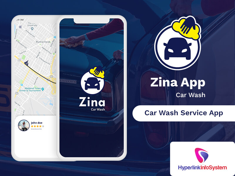 zina car wash service app